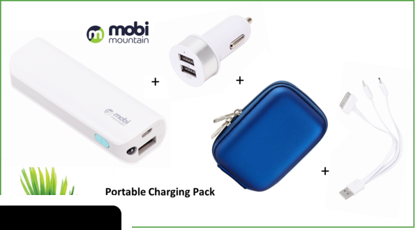 31695 - MOBILE Portable Charging Pack Europe