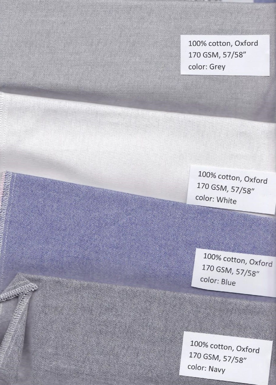 31914 - Sale offer for 443,236 yards Oxford Fabrics stock Bangladesh