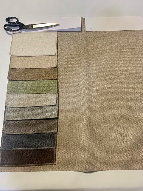 34282 - Assorted Upholstery Solids Chenille First Quality USA