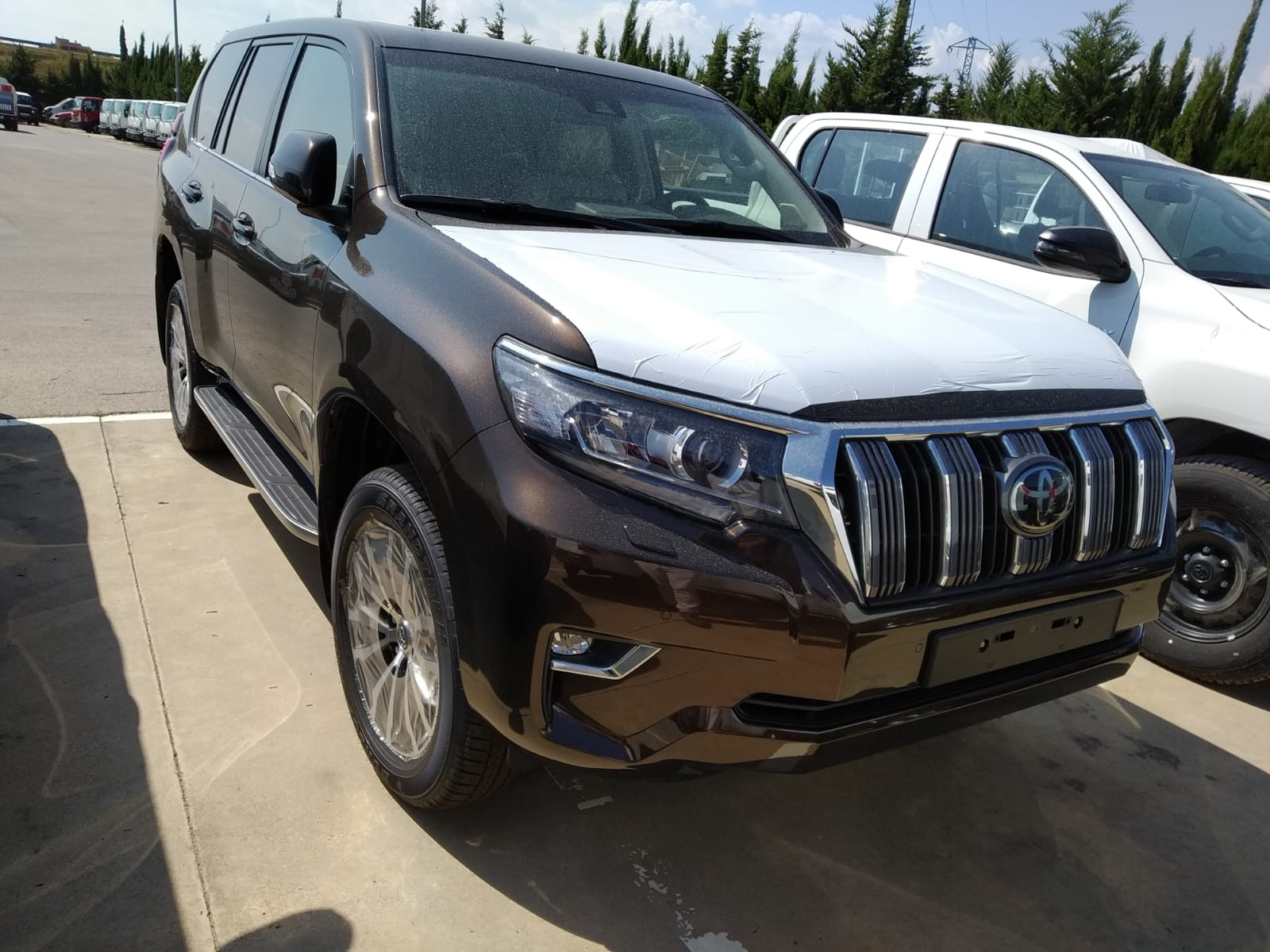 34714 - TOYOTA Land Cruiser 2.8L T/A 6v (4x4) 5P VXL [2019] VXL LEATHER [A1] Europe