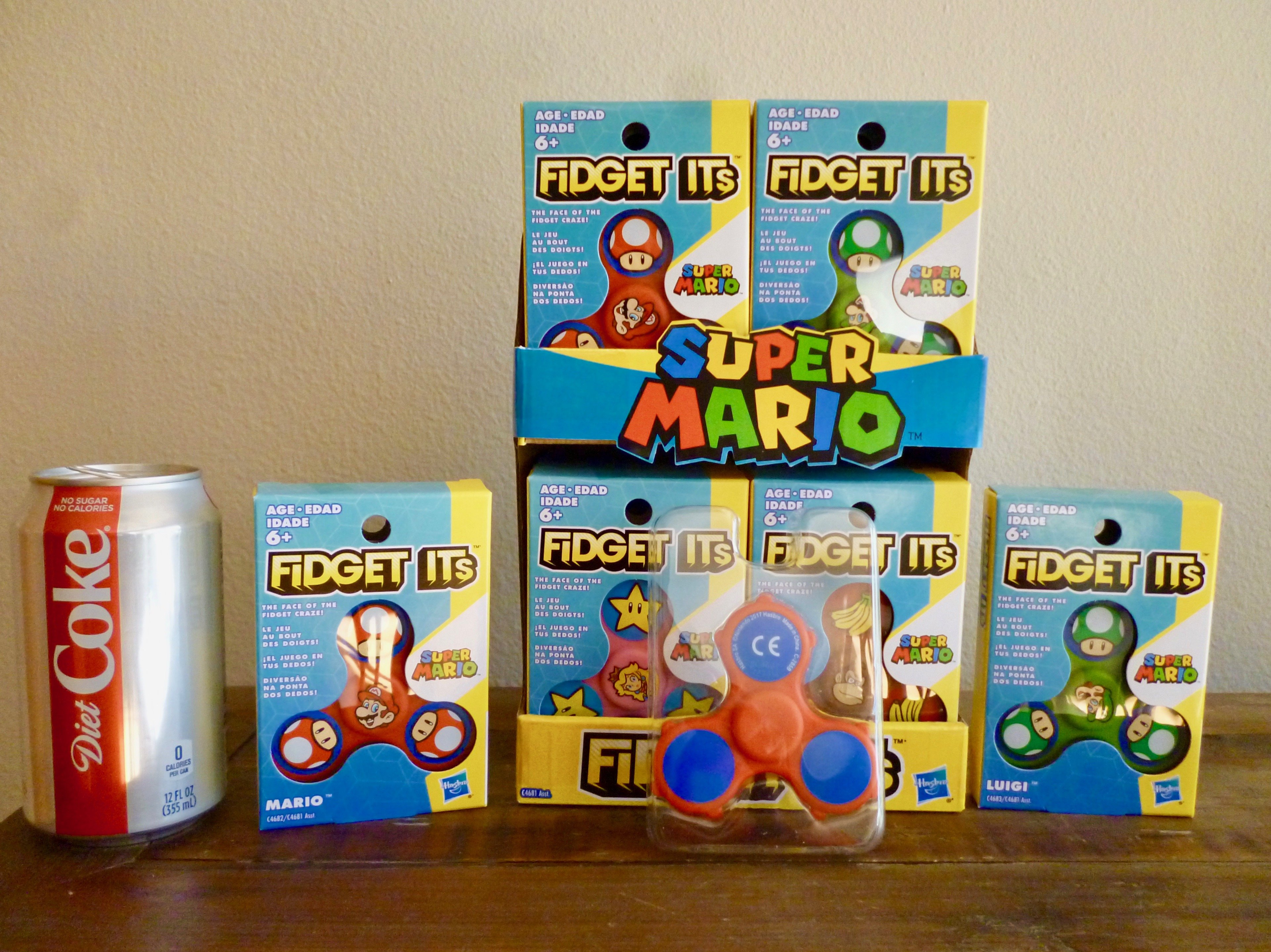 34795 - Super Mario Inventory From Hasbro Europe
