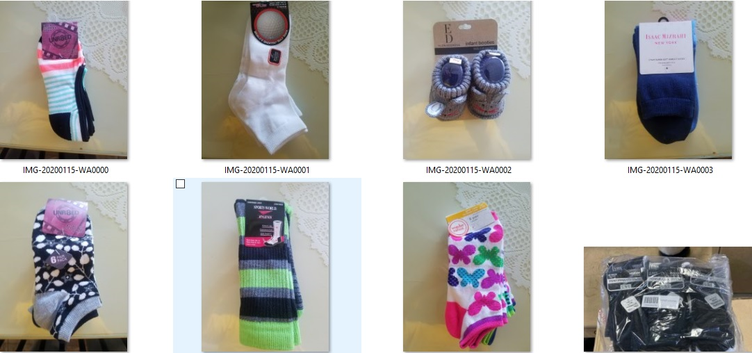 35145 - ASSORTED BRANDED SOCKS USA