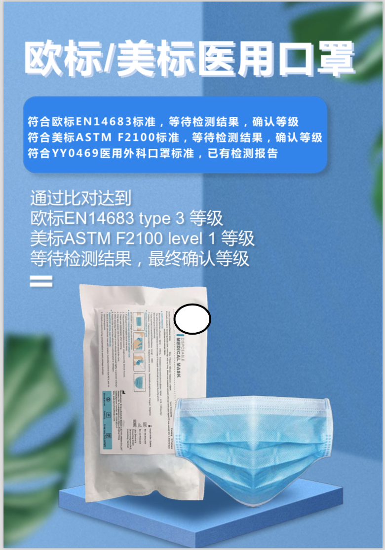 36083 - Surgical mask offer China