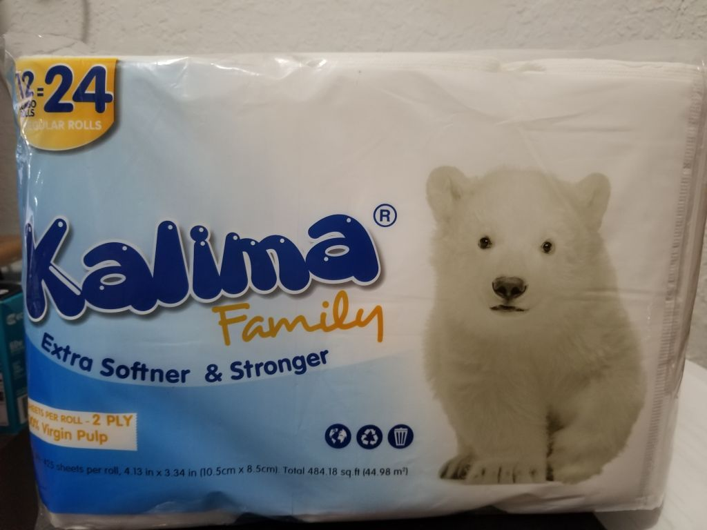 37637 - Kalima 12 Pack Toilet Paper USA