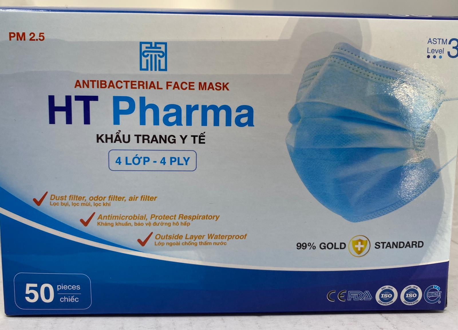 38009 - ASTM Level 3 4Ply Disposable Protective Mask USA