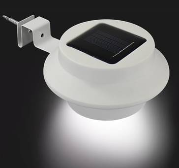 38014 - LED solar gutter light Europe