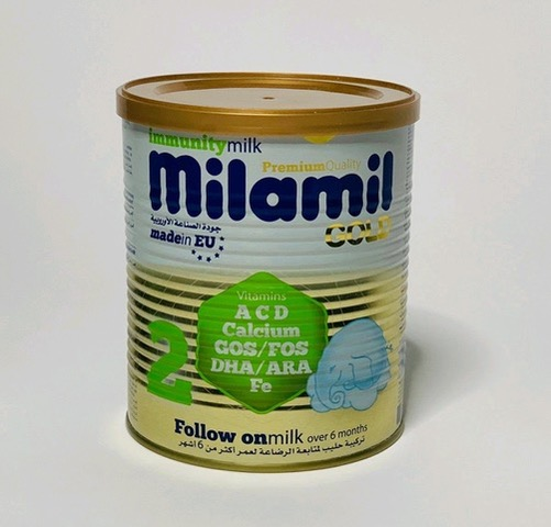 38341 - Milamil 1,2,3,4 powder milk 400g offer Europe
