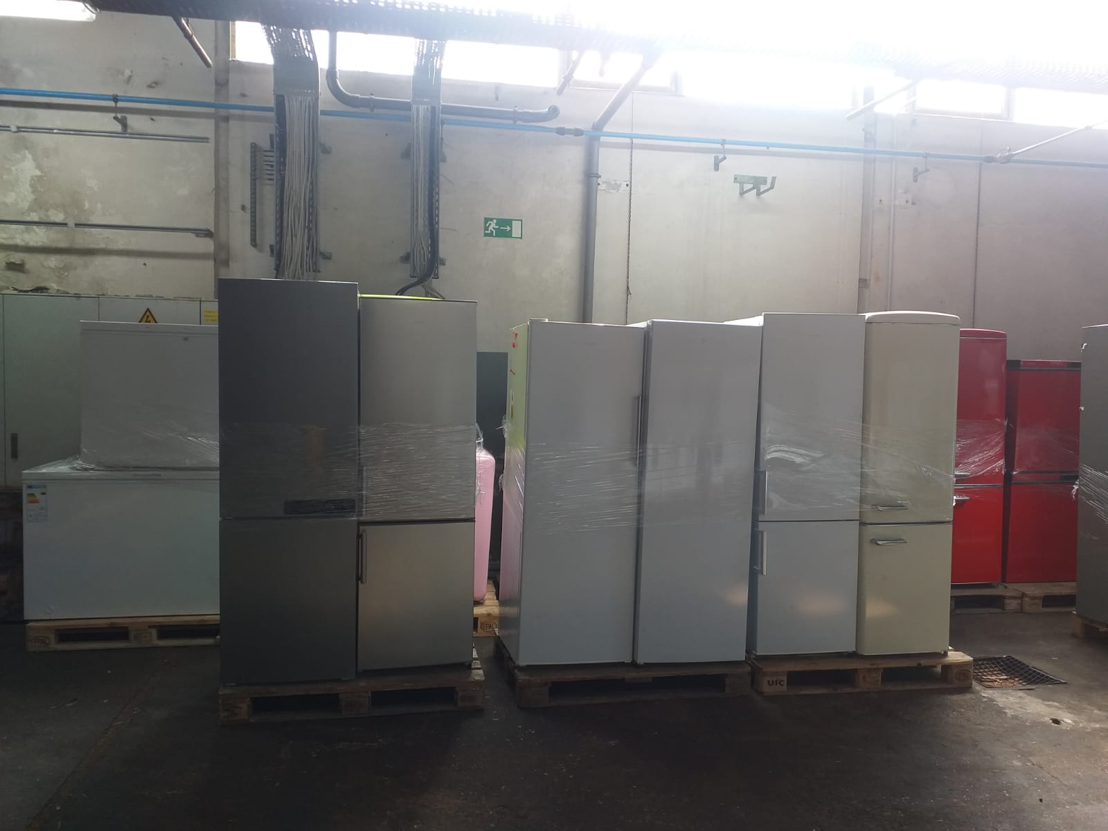 38536 - Washing machine fridges Europe