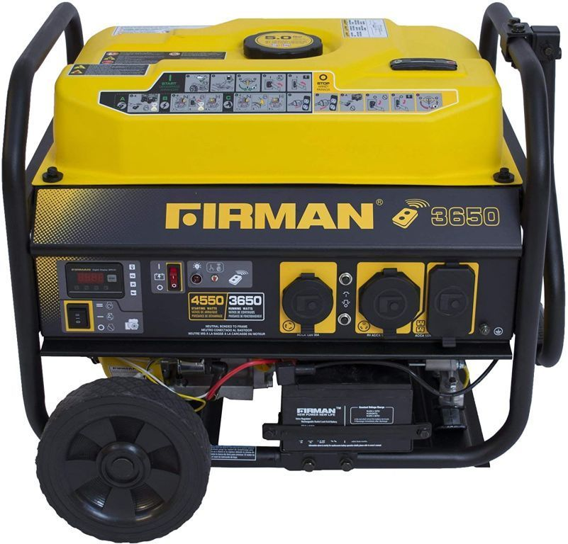 39026 - 4550 Watt FIRMANS Generator Truckload USA