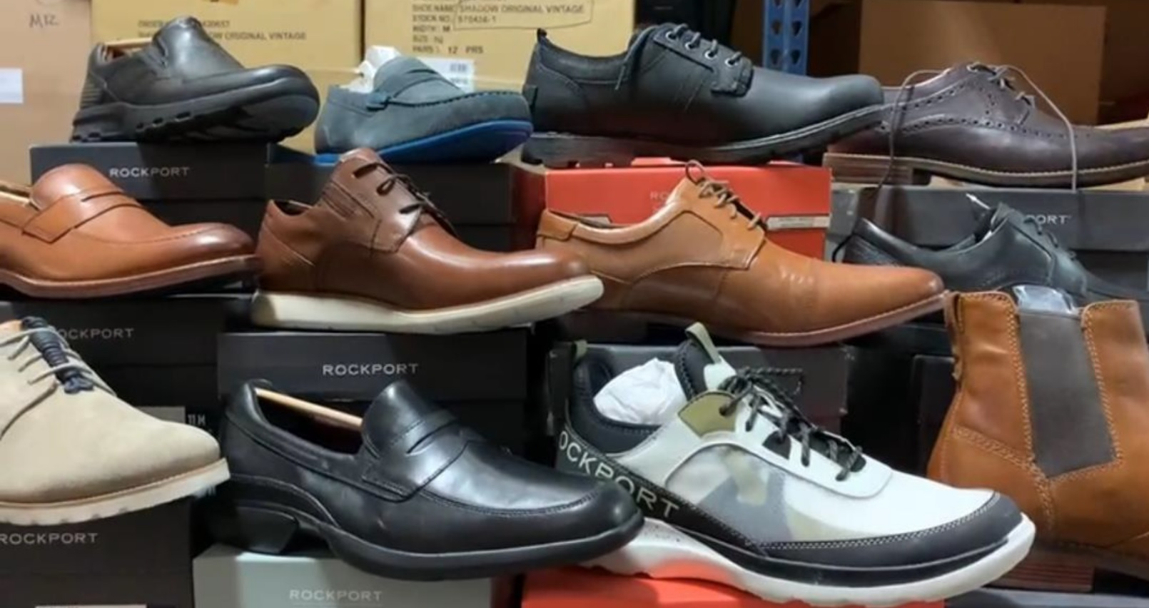 40437 - Rockport Men's First Quality Assort Styles & Sizes Shoes USA