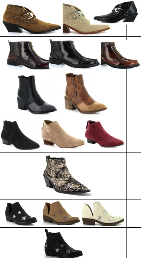 40560 - Seven7 Ladies Flat & Ankle Boots USA