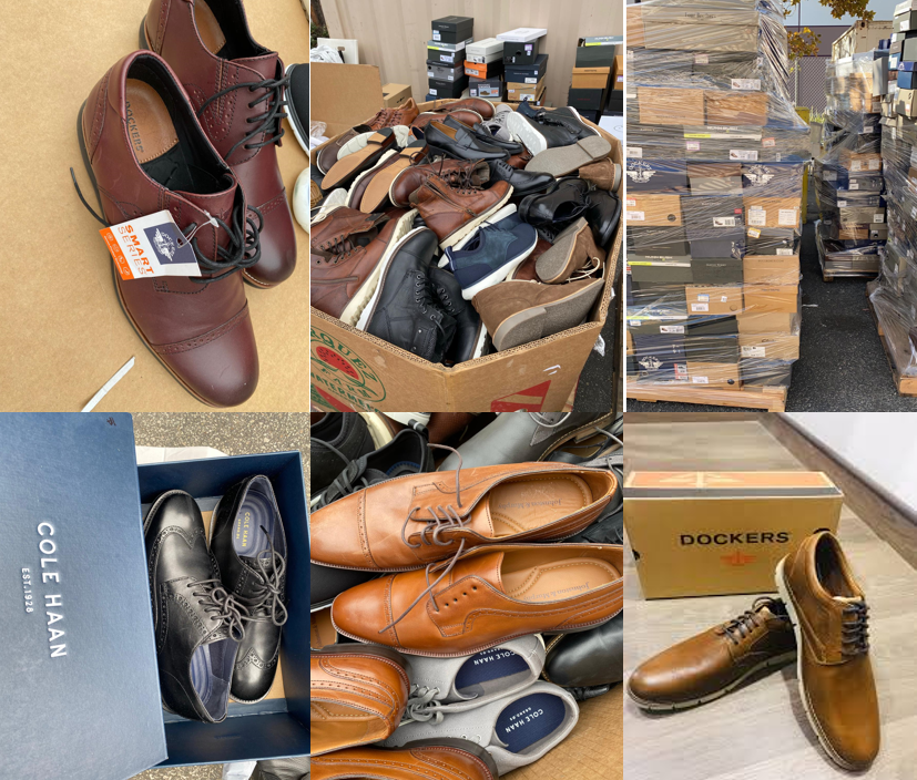 41586 - New Lot of Men's Shoes USA